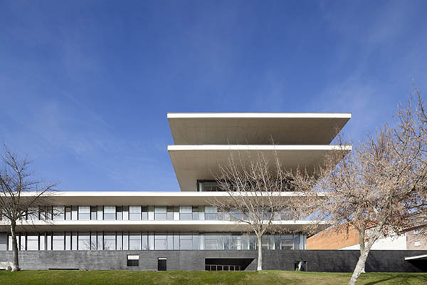 S nchez gil arquitectos edificio administrativo de la - Arquitectos en salamanca ...